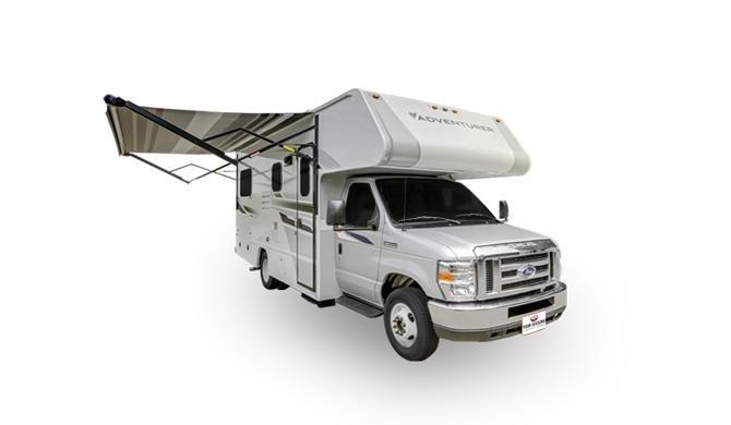 Op reis in de Four Seasons C-Medium camper