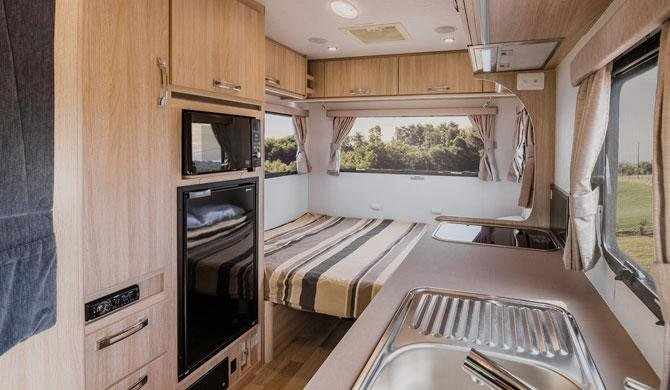 Lets Go 3 Berth Cruiser camper