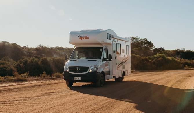 Op camperreis door Australië in de Star RV Hercules camper