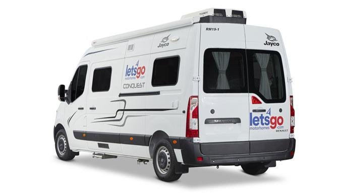 De Lets Go 2+1 Berth Escape camper