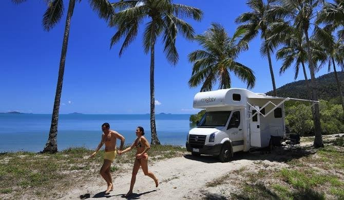 Ga op camperreis door Australië in de Mighty Big Six camper
