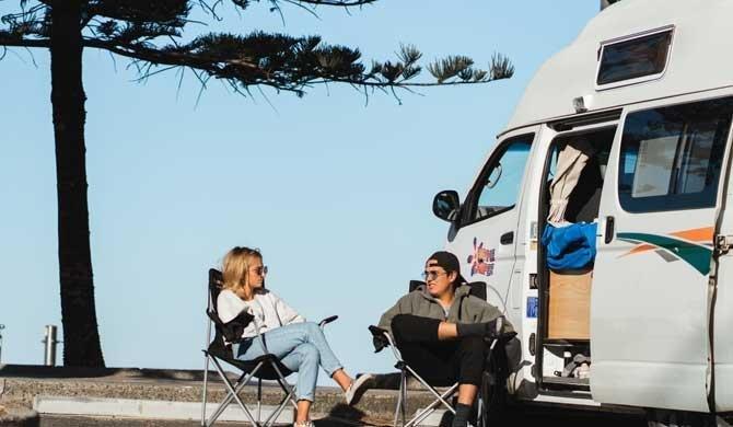 Met de Hippie Endeavour camper op reis door Australië