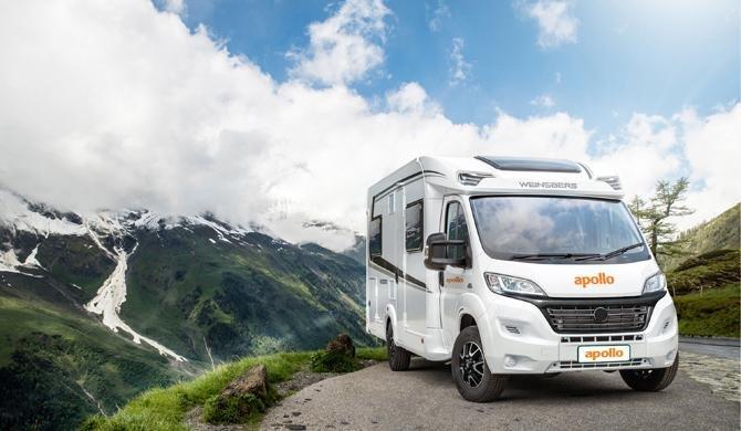 Op camperreis door Europa in de Apollo Family Traveller Plus camper