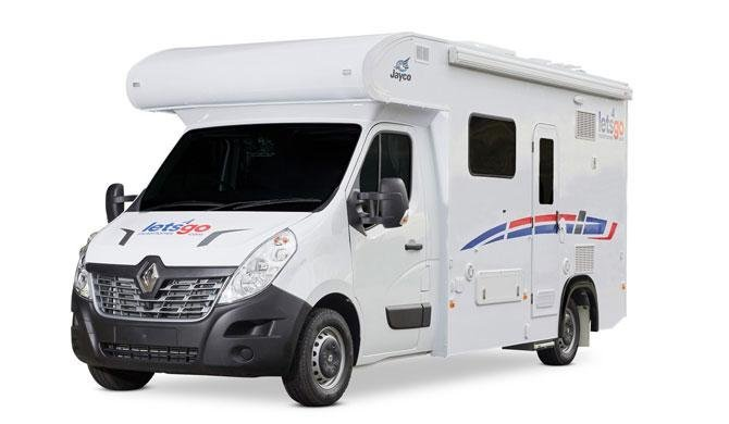 Lets Go 2 Berth Voyager Deluxe camper