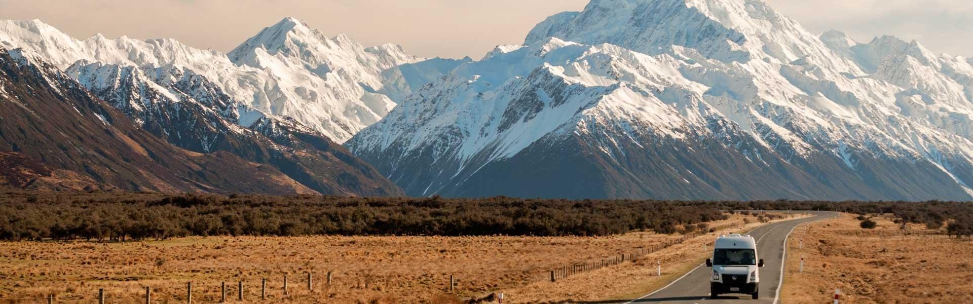 Ga op camperreis door Nieuw-Zeeland in een camper van Cheapa Campa