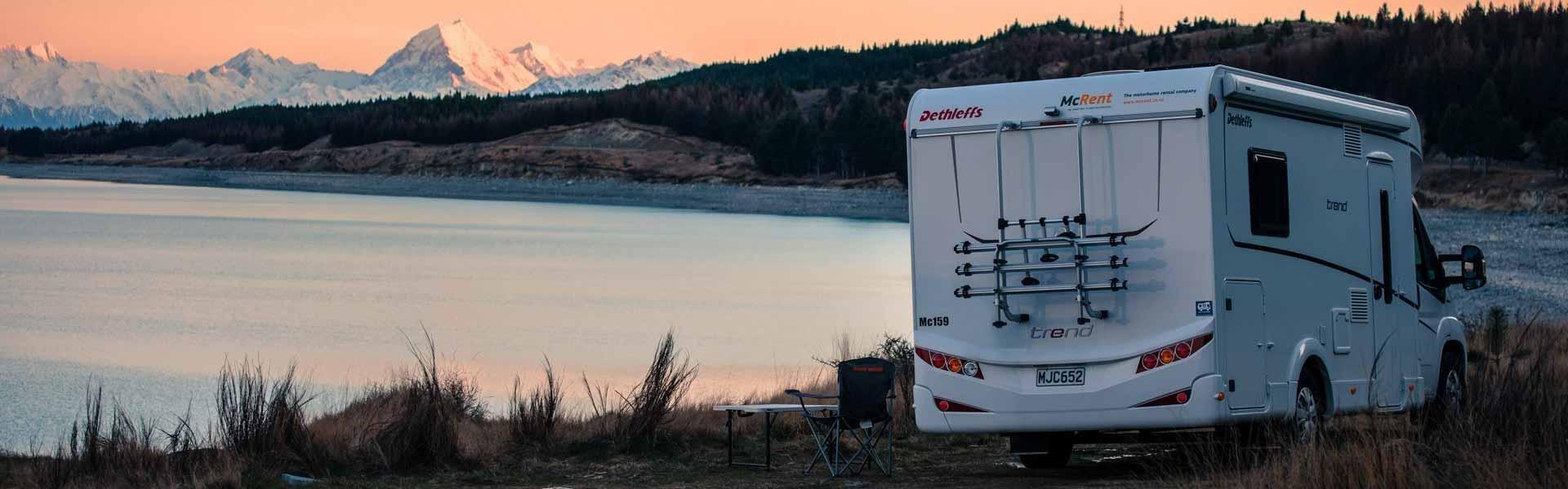 Ga op camperreis door Nieuw-Zeeland met een camper van McRent