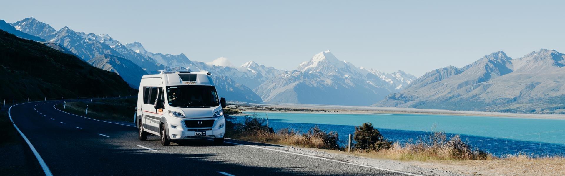 Campervakantie Nieuw-Zeeland