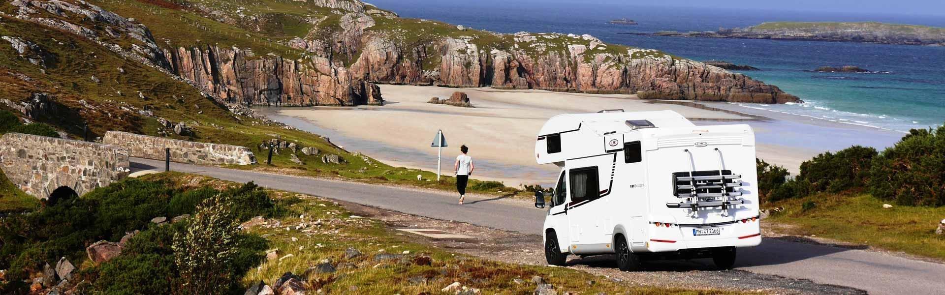 Boek een camper van McRent en maak een camperreis door het Verenigd Koninkrijk